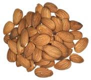 Almond nuts Stock Photos