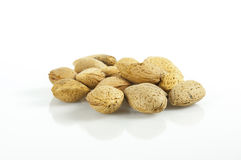 Almond nuts royalty free stock photography