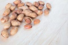 Almond nuts Royalty Free Stock Photos