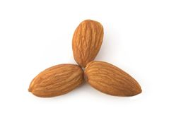 Almond nuts. On the background Stock Images