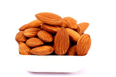 Almond nuts Stock Photography