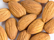 Almond nuts background Royalty Free Stock Photo
