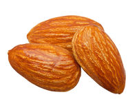 Almond nuts isolated Royalty Free Stock Photography