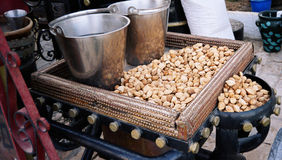 Almond nuts. Tunusia Royalty Free Stock Photography