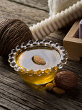 Almond oil Royalty Free Stock Images