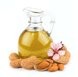 Almond oil Stock Images