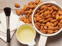 Almond oil Royalty Free Stock Photo