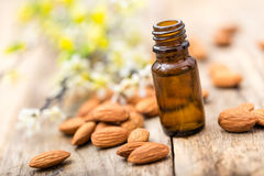 Almond oil Royalty Free Stock Photos