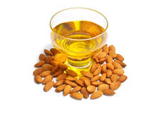 almond oil Royalty Free Stock Photography