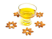 almond oil Stock Image