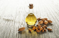 Almond oil Stock Photos