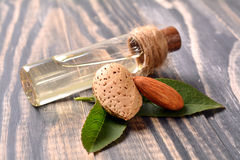 Almond oile Royalty Free Stock Photography