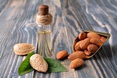 Almond oile Royalty Free Stock Photos