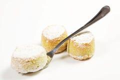 Almond paste stock photo