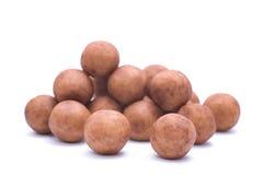 Almond paste potatoes Royalty Free Stock Photo