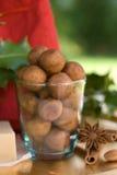 Almond paste potatoes Stock Image