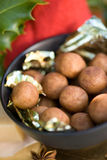 Almond paste potatoes Royalty Free Stock Photos