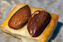 Almond pastry appetizer Royalty Free Stock Image