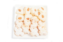 Almond pastry Royalty Free Stock Photos