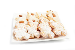 Almond pastry Stock Image