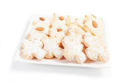 Almond pastry Royalty Free Stock Image