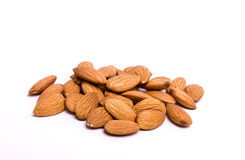 Almond Pile Stock Photography