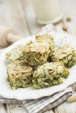 Almond and pistachio slices Royalty Free Stock Photo