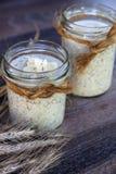 Almond quinoa breakfast Royalty Free Stock Image