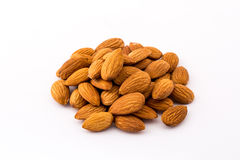 Almond raw material Stock Photography