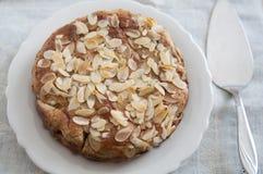Almond Ricotta Cake Stock Photos
