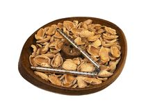 Almond Shells Stock Images