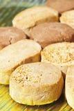 Almond shortbread Royalty Free Stock Photo