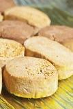 Almond shortbread Royalty Free Stock Photos