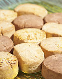 Almond shortbread Stock Images