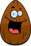 Almond Smiling stock illustration
