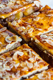 Almond tart Stock Photography