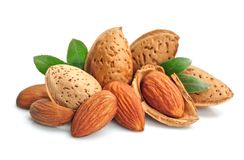 Almonds. Royalty Free Stock Image