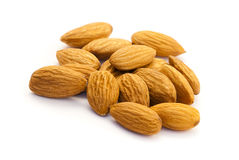 Almonds. The nut associated with health for its medical properties Stock Image