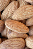 Almonds. Nuts royalty free stock images
