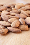 Almonds. Nuts stock photo