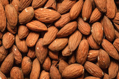 Almonds as food background Royalty Free Stock Photography