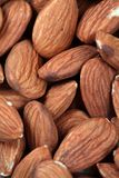 Almonds background Royalty Free Stock Images