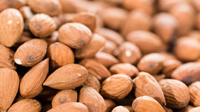 Almonds Background Image Royalty Free Stock Photos