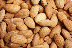 Almonds Background Royalty Free Stock Photos
