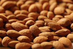 Almonds background Royalty Free Stock Photography