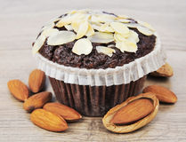 Almonds cake Royalty Free Stock Photography