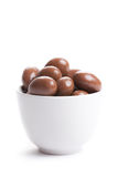 Almonds in chocolate Royalty Free Stock Images