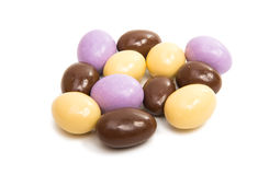 Almonds in chocolate glaze Royalty Free Stock Photography