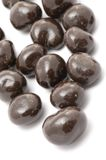 Almonds in Chocolate macro Royalty Free Stock Image