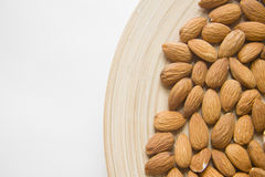 Almonds closeup Stock Photo